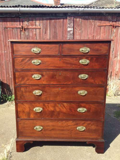 A Fine Quality George 3rd Gentleman's Chest SOLD