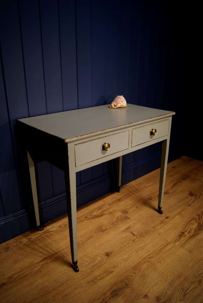 Regency Painted Side Table Dressing SOLD