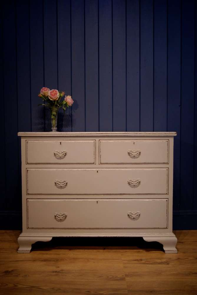 Regency Painted Mahogany Chest Of Drawers SOLD