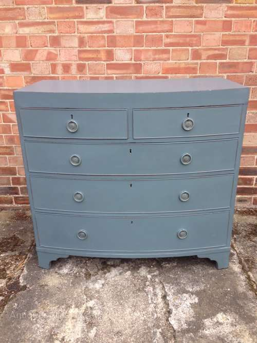 Early 19th Century Painted Mahogany Chest SOLD- Ref:1027