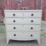 Early 19th Century Painted Mahogany Chest SOLD
