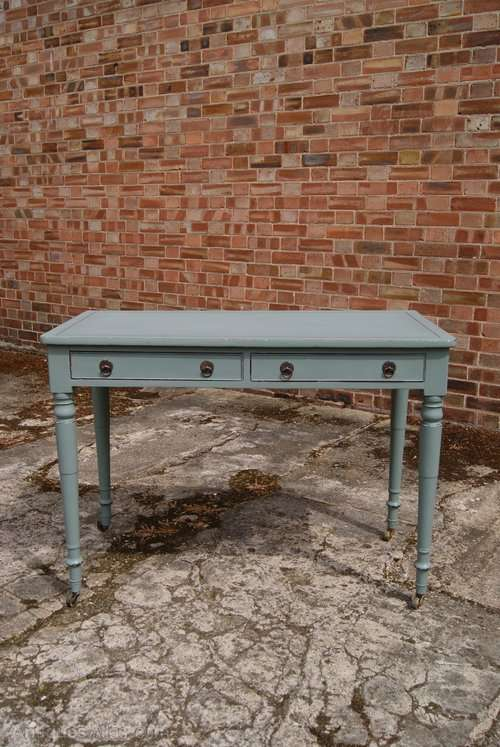 Early Victorian Painted Mahogany Desk Table SOLD
