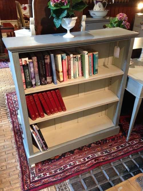 Edwardian Painted Oak Bookcase SOLD