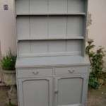 Edwardian Painted Oak Cottage Dresser SOLD- Ref:1015