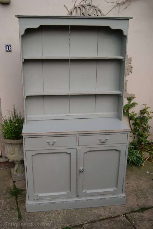 Edwardian Painted Oak Cottage Dresser SOLD- Ref:1015