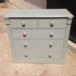 Edwardian Painted Pine 5 Drawer Chest SOLD