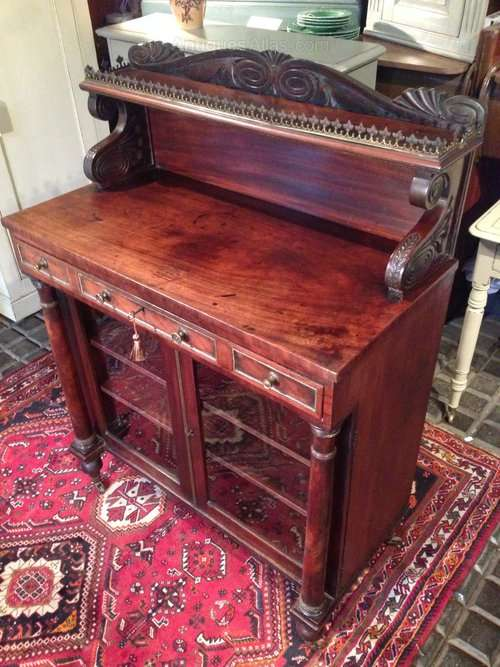 George IV Mahogany Side Cabinet SOLD