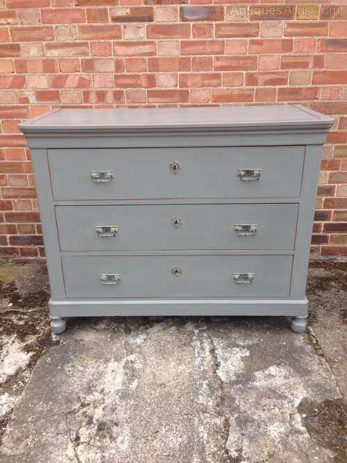 Late 19th Century French Painted Chest SOLD