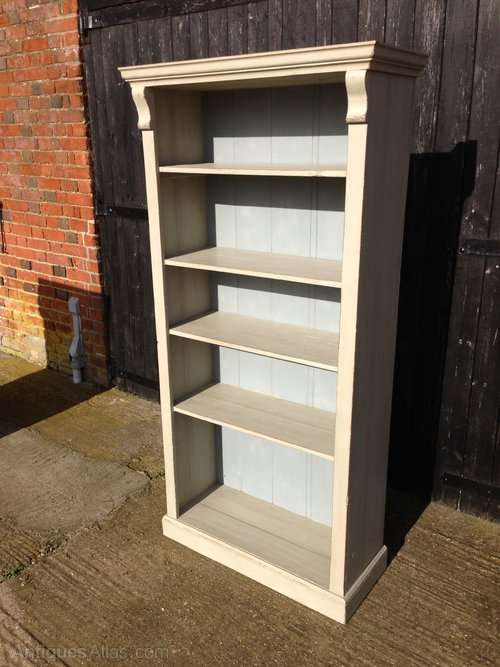 Late Victorian Painted Pine Bookcase SOLD