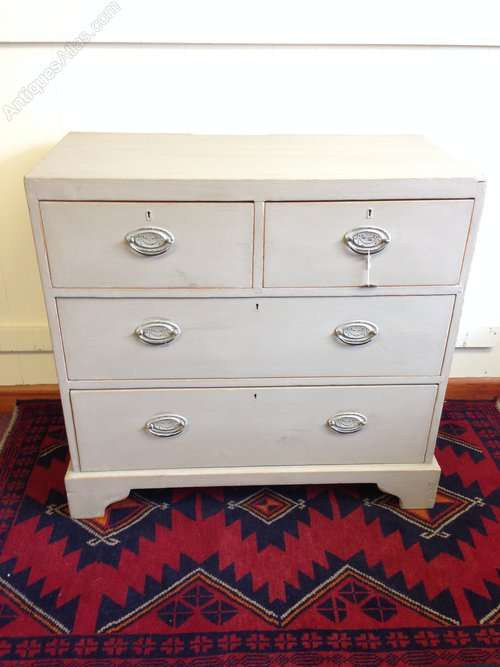 Victorian Painted Pine Cottage Chest SOLD
