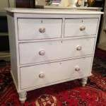 Late Victorian Painted Pine Chest SOLD