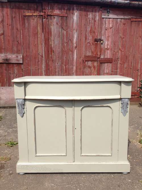 Mid 19th Century Painted Mahogany Chiffonier Base SOLD