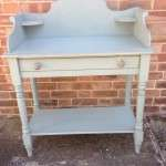 Mid 19th Century Painted Pine Wash Stand SOLD
