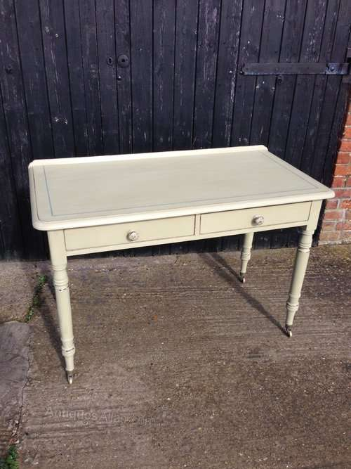 Mid 19th Century Painted Writing Table SOLD