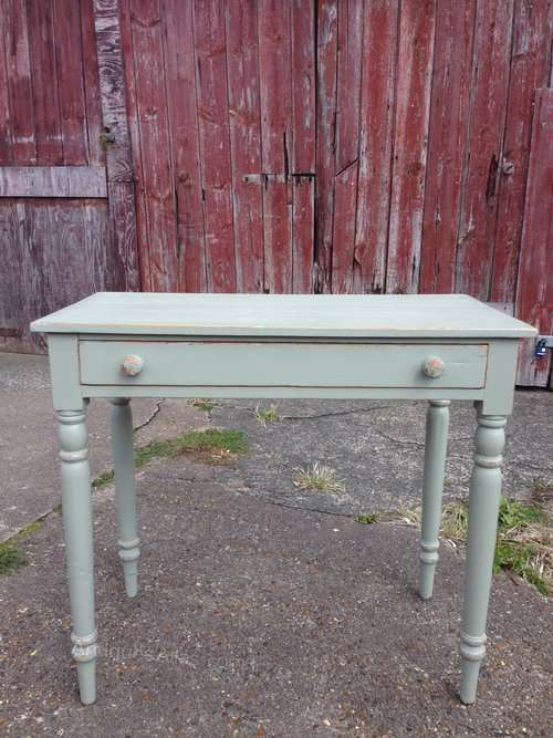 Mid Victorian Painted Pine Side Table SOLD