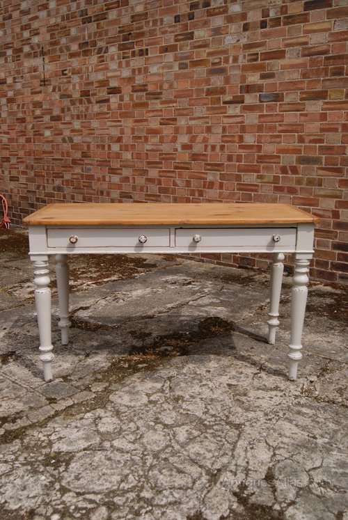 Mid Victorian Painted Cottage Table SOLD- Ref:1014