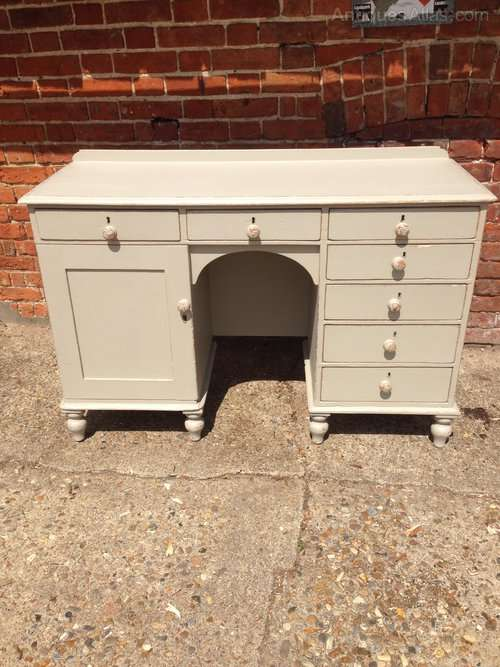 Mid Victorian Painted Pine Desk SOLD