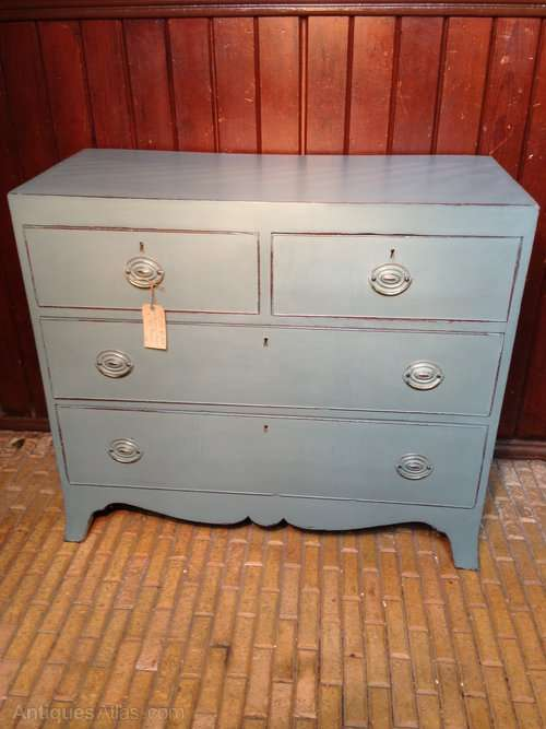 Regency Painted Mahogany Chest SOLD