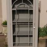 Regency Painted Mahogany Glazed Cupboard SOLD