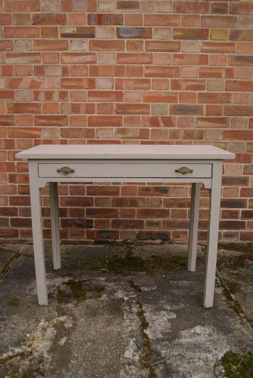 Regency Painted Mahogany Side Table SOLD