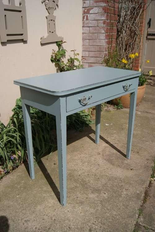 Regency Painted Mahogany Side Table1