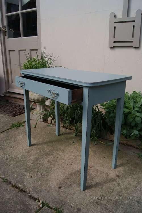 Regency Painted Mahogany Side Table2