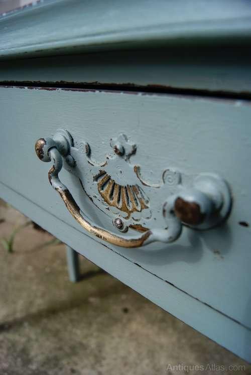 Regency Painted Mahogany Side Table4