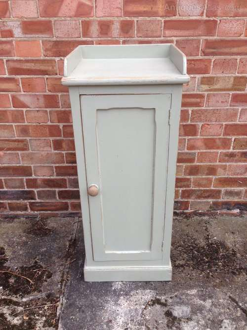 Victorian Painted Pine Small Cupboard SOLD