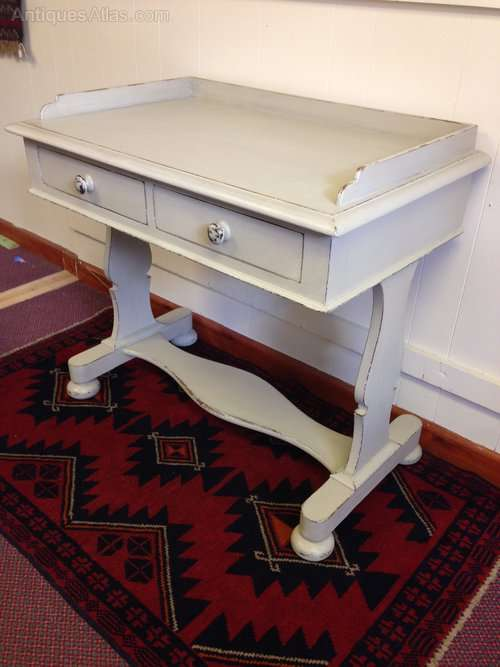 William IV Painted Mahogany Writing Table SOLD