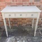 William IV Painted Mahogany Side Table SOLD