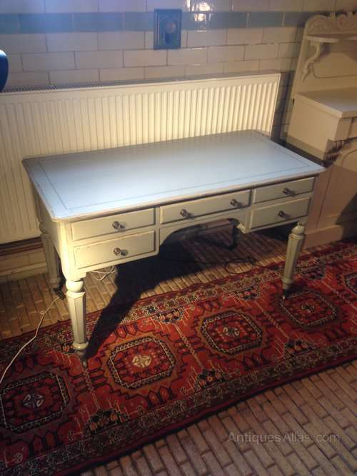 WIlliam IV Painted Pine Writing Desk SOLD