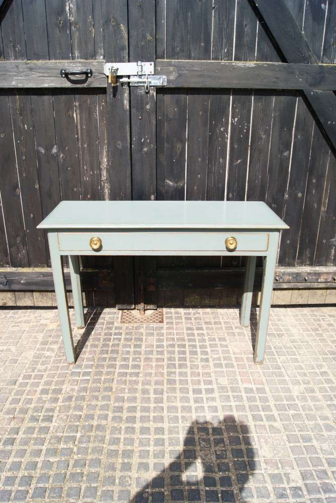 Victorian Painted Oak Side Table