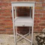Early Victorian Painted Elm Bedside Table SOLD- Ref:1052