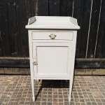 Edwardian Painted Mahogany Bedside Cabinet SOLD- Ref:1051