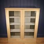 Edwardian Painted Walnut Glazed Bookcase SOLD- Ref:1048