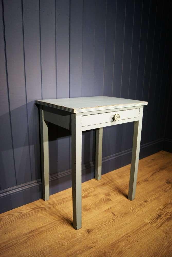 Regency Painted Mahogany Small Table1