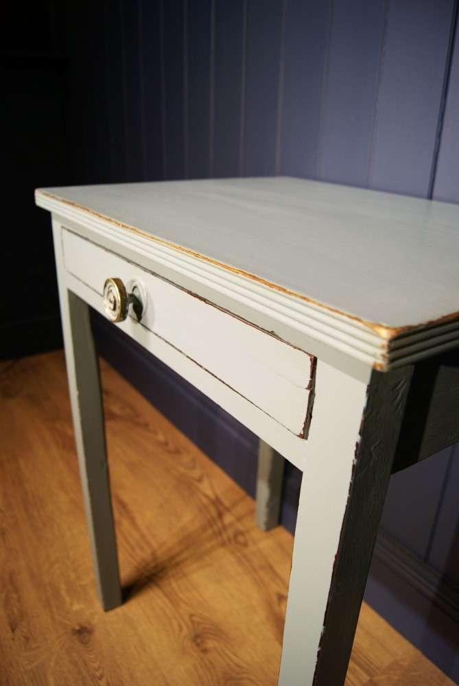 Regency Painted Mahogany Small Table3