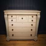 William IV Painted Mahogany Gentleman's Chest SOLD- Ref:1059