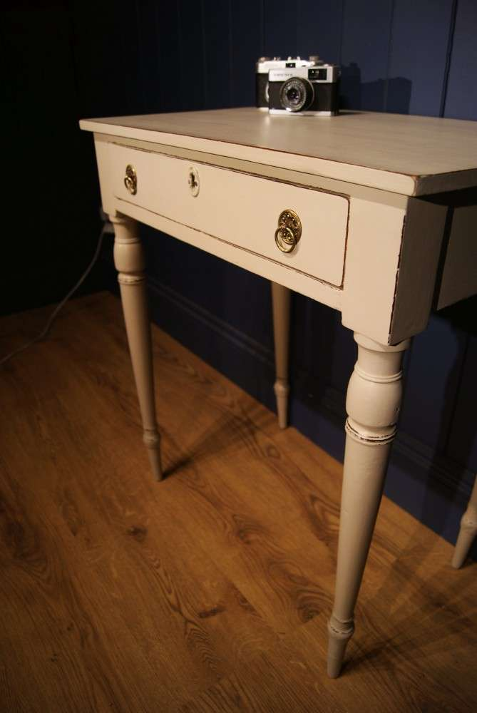 Early Victorian Painted Mahogany Side Table3