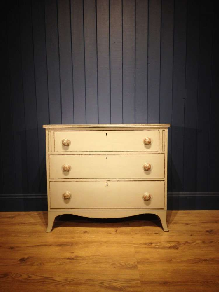 Regency Painted Mahogany Chest SOLD- Ref:1065