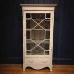 Edwardian Painted Mahogany Glazed Cabinet SOLD – Ref:1066
