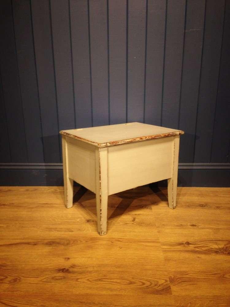 Victorian Painted Pine Box Stool1