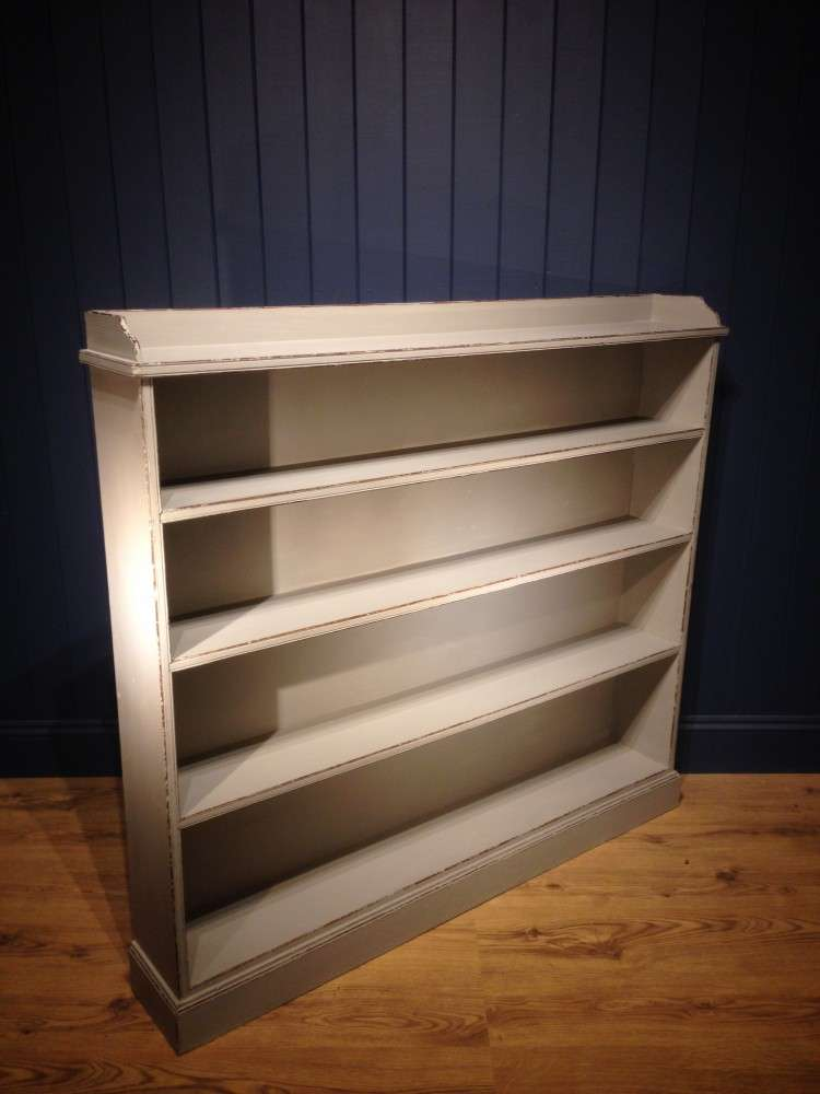 Victorian Painted Pine Bookcase1