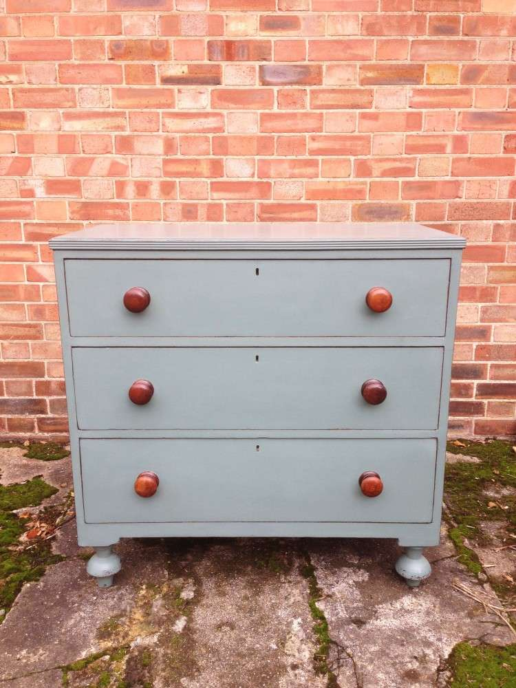 Victorian Painted Chest Of Drawers SOLD- Ref:1073