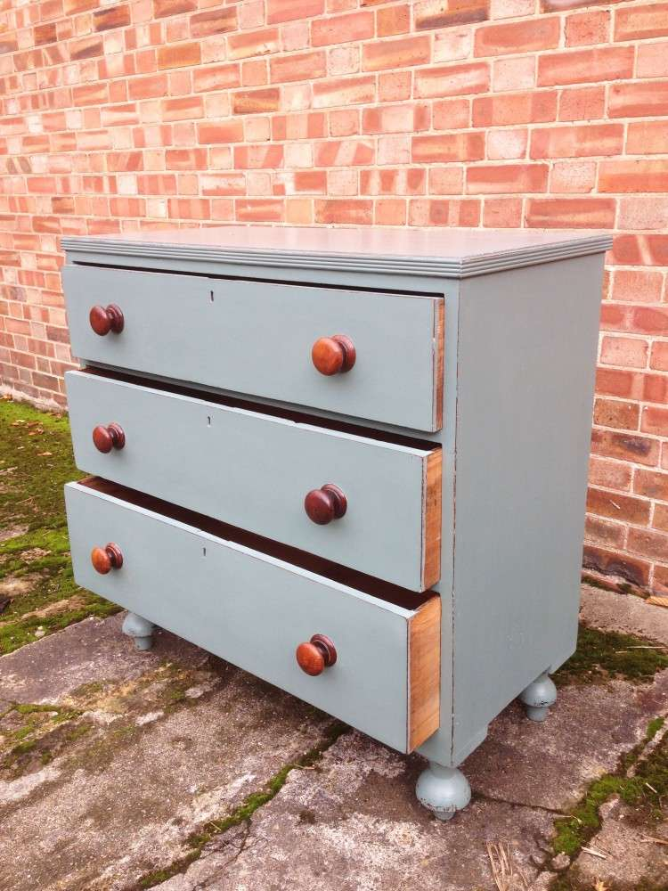 Victorian Painted Chest Of Drawers2