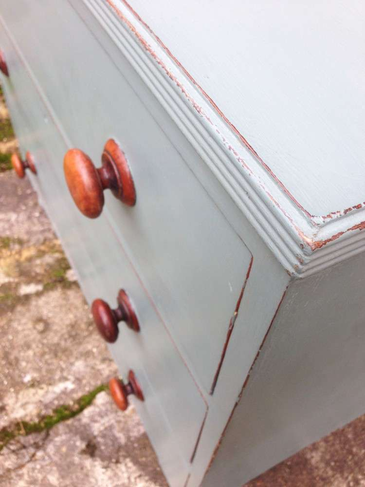 Victorian Painted Chest Of Drawers3