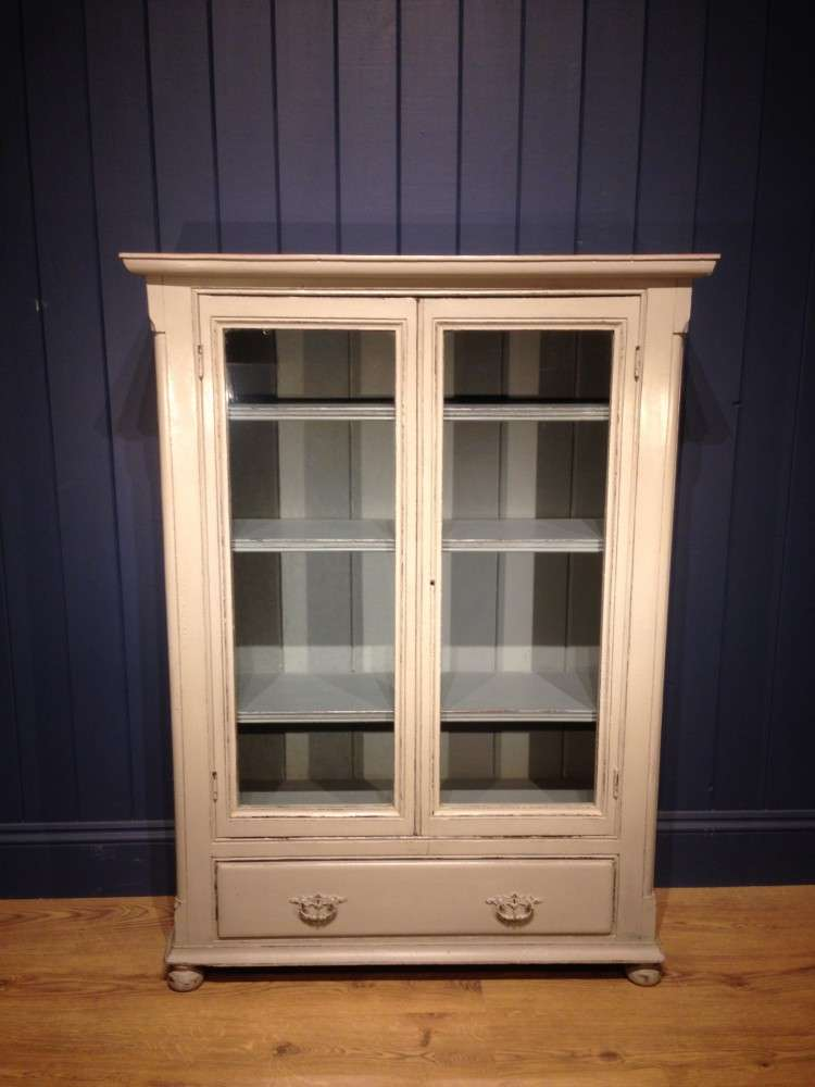 Mid Victorian Painted Pine Bookcase SOLD- Ref:1075