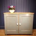 Victorian Painted Pine Kitchen Cupboard SOLD- Ref:1076