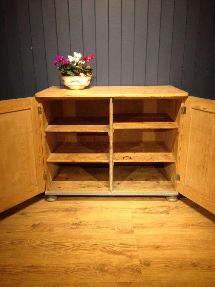 Victorian Painted Pine Kitchen Cupboard3