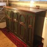 19th Century French Painted Oak CupboardSOLD – Ref:1079